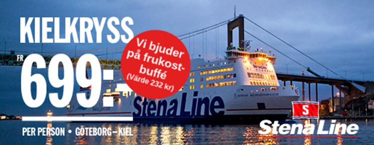 stena line mat ombord germanica