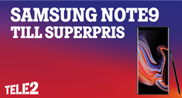 Superpris – Samsung Note9