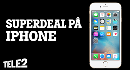 Superdeal på iPhone 6s!